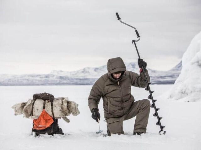 Prøv isfiskeri som de lokale