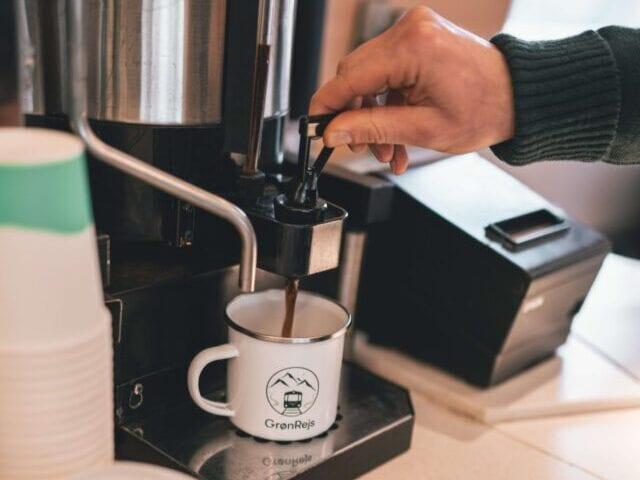 Kaffe i toget