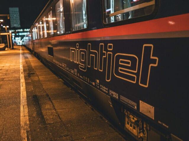 Nattoget betjenes af ÖBB Nightjet
