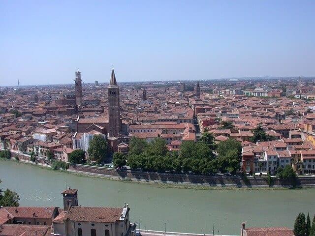 Verona er en smuk romersk by