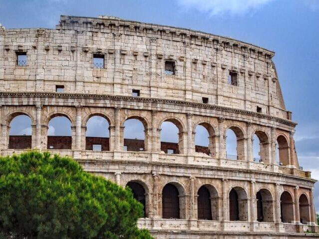Oplev Colosseum, Roms vartegn