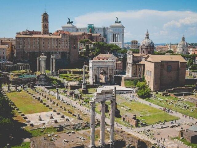 Oplev Forum Romanum