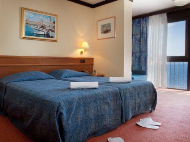 Dejlige værelser - nogle med havudsigt