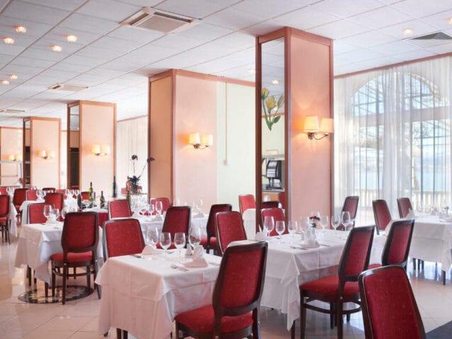Hotellets flotte restaurant