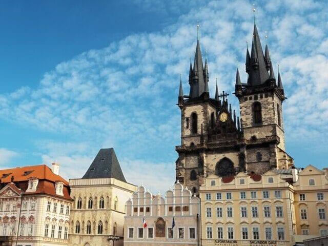 Týnkirken er bare én af flere flotte kirker