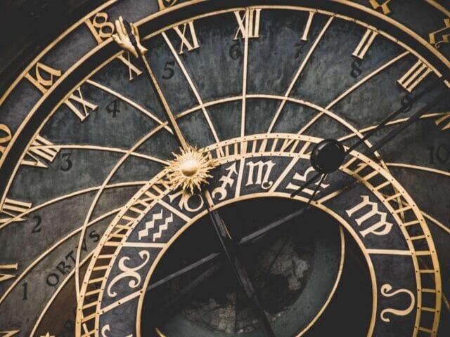 Det astronomiske ur på rådhuset