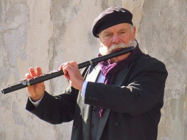 Gademusikanterne skaber stemning
