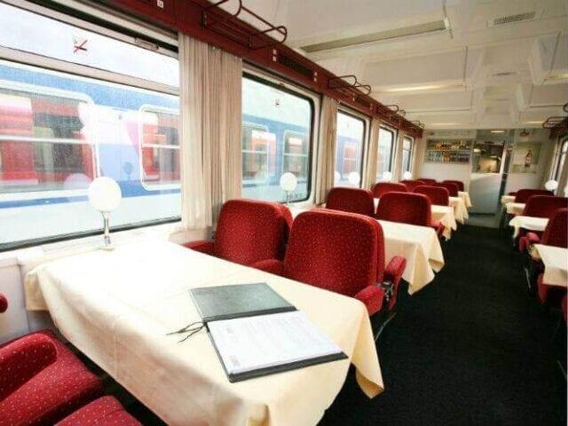 Nyd den skønne restaurantvogn til Prag