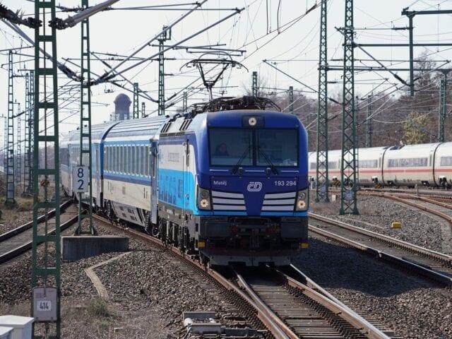 Eurocitytoget fra Hamborg til Prag