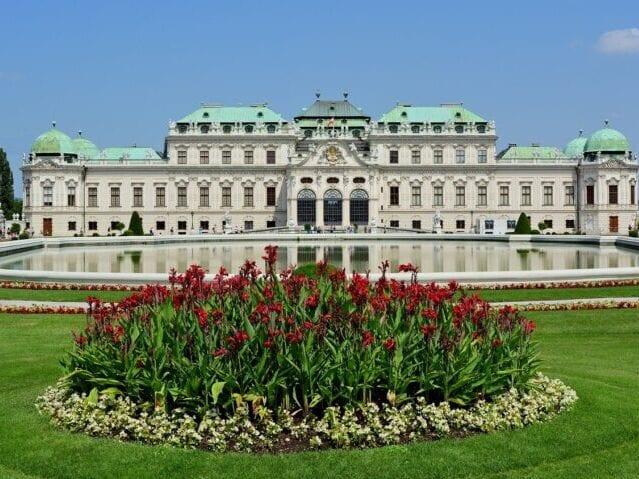 Oplev Belvedere slottet