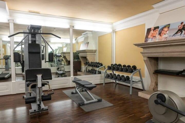 Adgang til hotellets fitnessrum