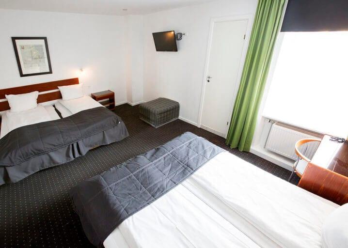Hotellet har flere typer værelser