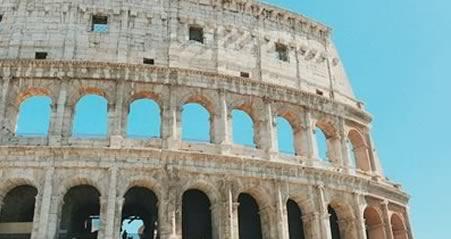 Rejsemål Coloseum i Rom